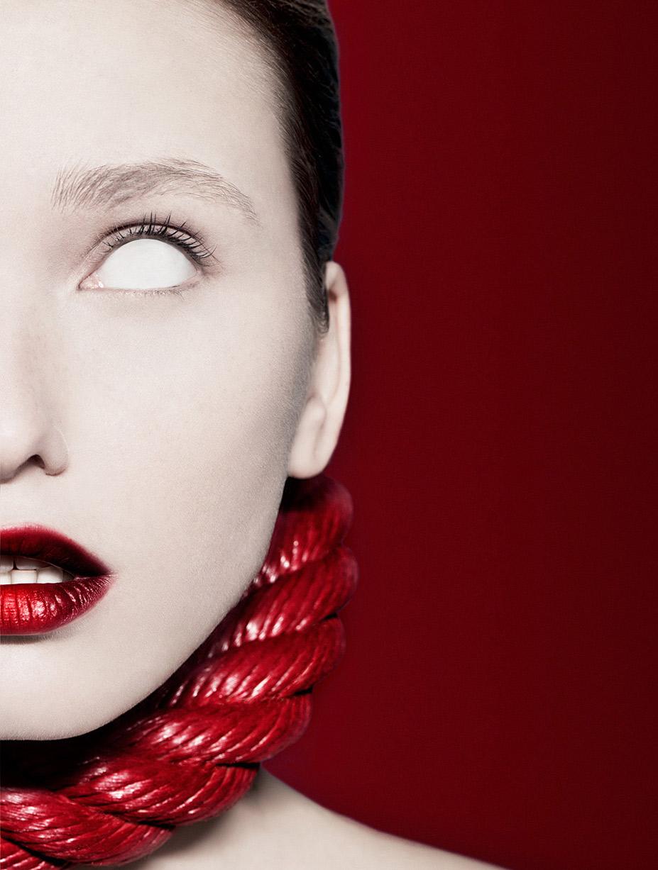 Жанна Тихобразова / Zhanna Brass by Cyril Lagel in Aestus magazine / Red Bellion