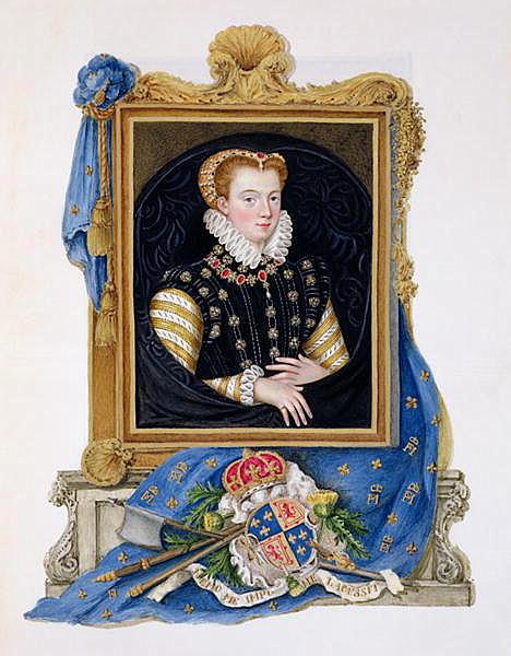 Портрет Марии Стюарт, Королевы Шотландской.