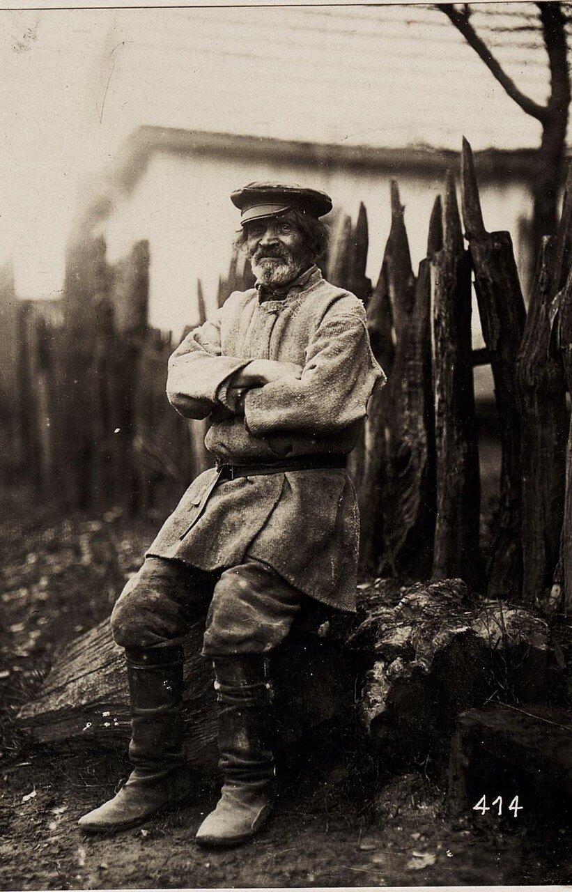 Пожилой крестьянин