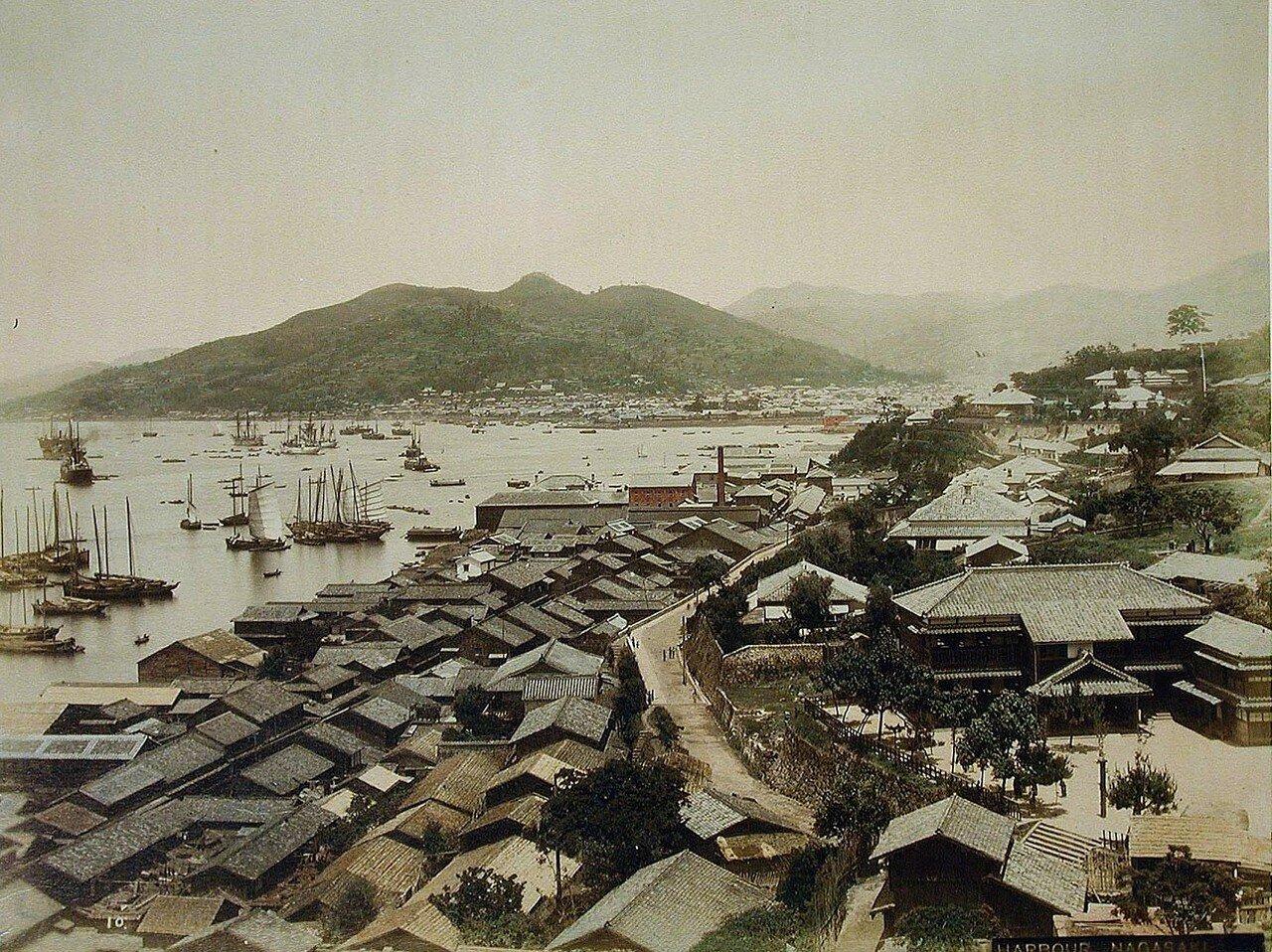 Нагасаки. Гавань. 1890