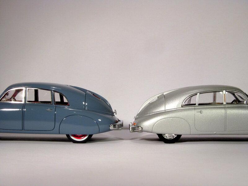 Tatra T600 Tatraplan: NEO vs. PCT