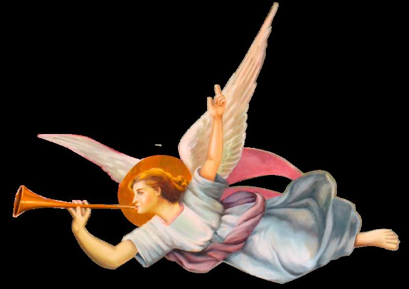 туманность картинки трубящий ангел заправить машину