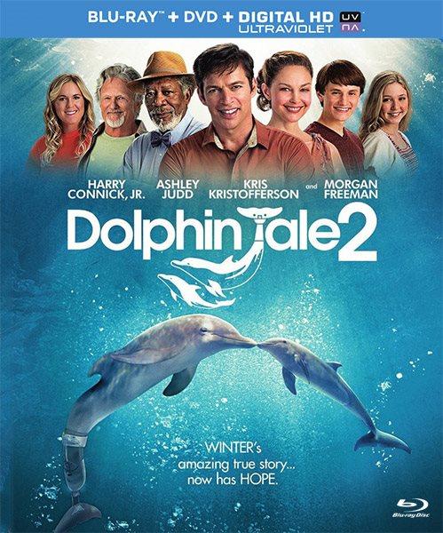 История дельфина 2 / Dolphin Tale 2 (2014/BDRip/HDRip)