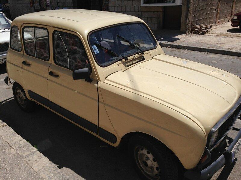 ретро авто на Балканах