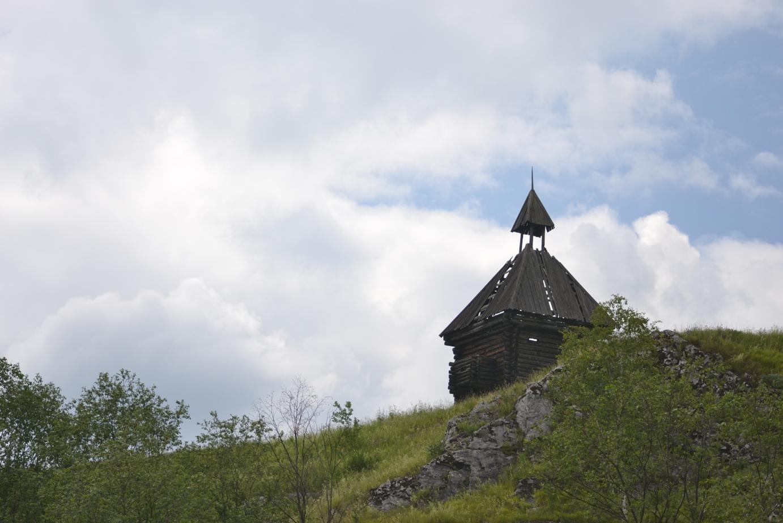 Вид на острог (деревня Каменка, Сведловская область) (08.07.2015)