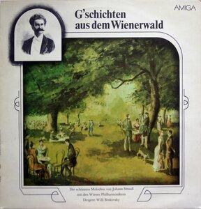 Johann Strauss. G'schichten Aus Dem Wienerwald (1983) [AMIGA, 8 45 262]