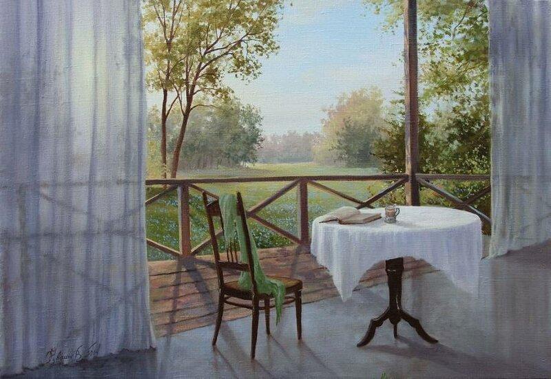 Белорусский художник Олег Чувашев. Нежные пейзажи и натюрморты 0 1110d3 e3b04343 XL