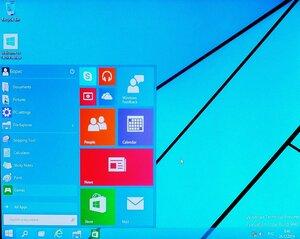 ПУСК и OFF в Windows 10 имеются