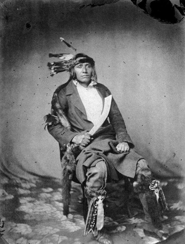 Wa-kin-yan Ta-wa, His Own Thunder, a warrior of the Mdewakanton Sioux, 1858 or 1859