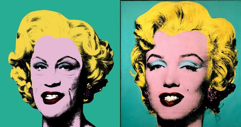 Джон Малкович и Сандро Миллер - фотопроект `Malkovich, Malkovich, Malkovich: Homage to photographic masters`