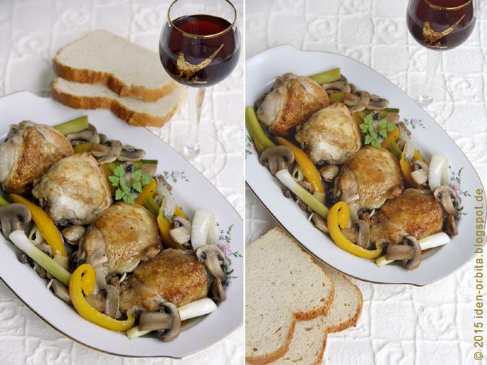 Цыпленок с имбирем