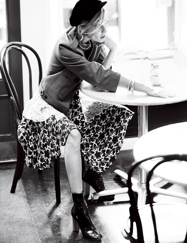 Сиенна Миллер (Sienna Miller) в журнале American Vogue