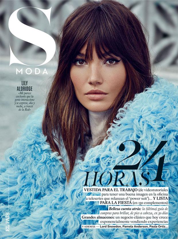 Лили Олдридж (Lily Aldridge) в журнале S MODA