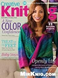 Журнал Creative Knitting - Summer 2013