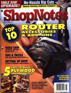 Журнал Журнал ShopNotes №93 (2007)