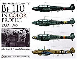 Книга Bf-110 in color profile 1939-1945