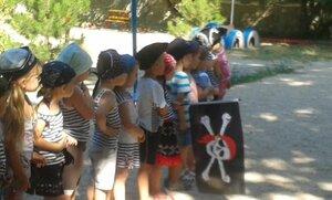 В детском саду №71 проведен праздник  «Пиратские приключения»