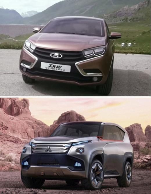 Mitsubishi стырили дизайн у АвтоВАЗа