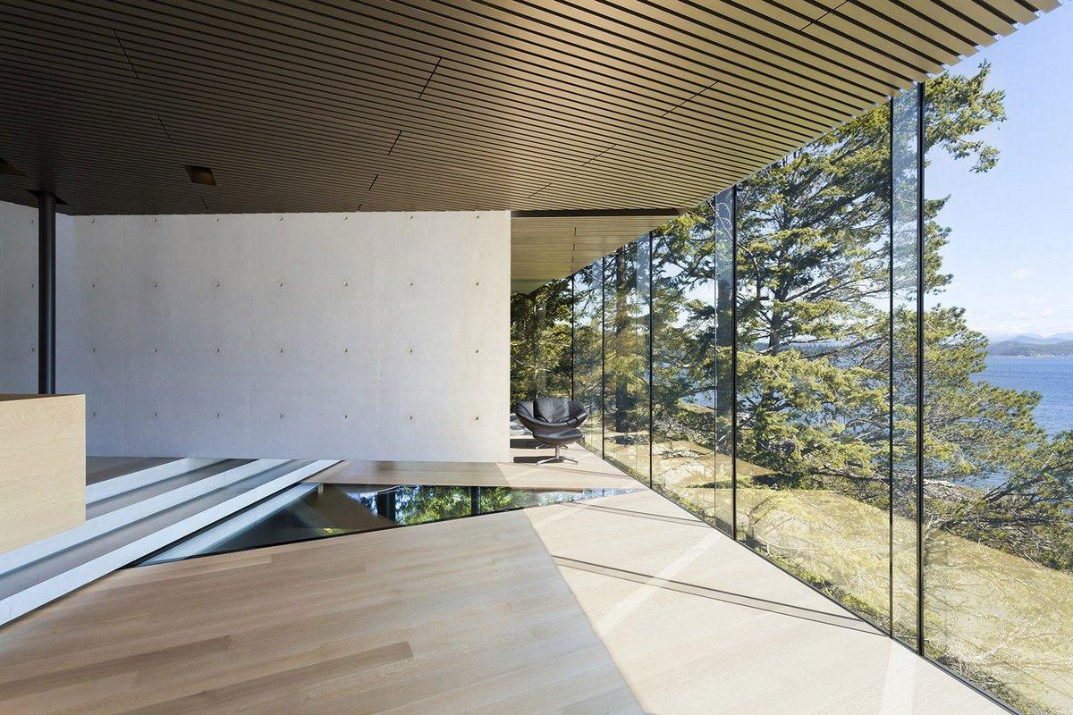 частные дома в Канаде, элитная недвижимость в Британской Колумбии, особняки в Британской Колумбии, Patkau Architects, дом в лесу, дом на острове Квадра