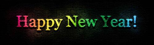 happy new year шапка