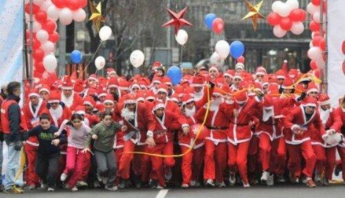 Сербия, Новый год, развлечения, Дед Мороз
