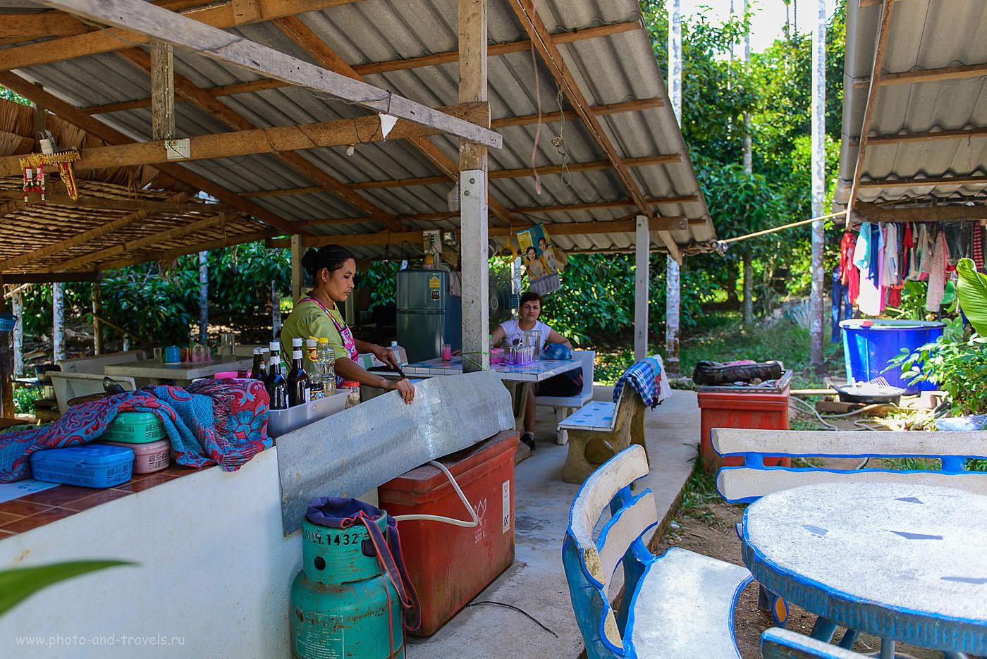 Фотография 5. В кафе по дороге в Ранонг. Отзывы об отдыхе в Тайланде