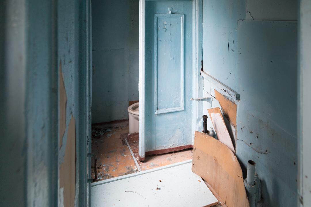 Руины туалета в Гизель-Дере