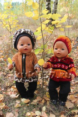 теплая кофточка для куклы