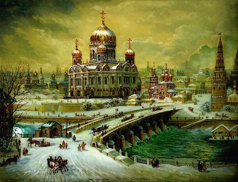 Купола России-красота моей души