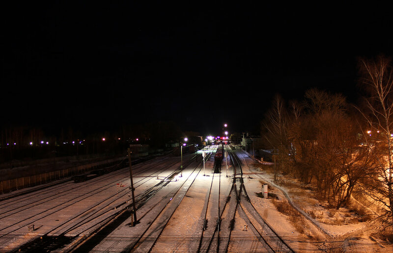 Ночной Ржев-Белорусский