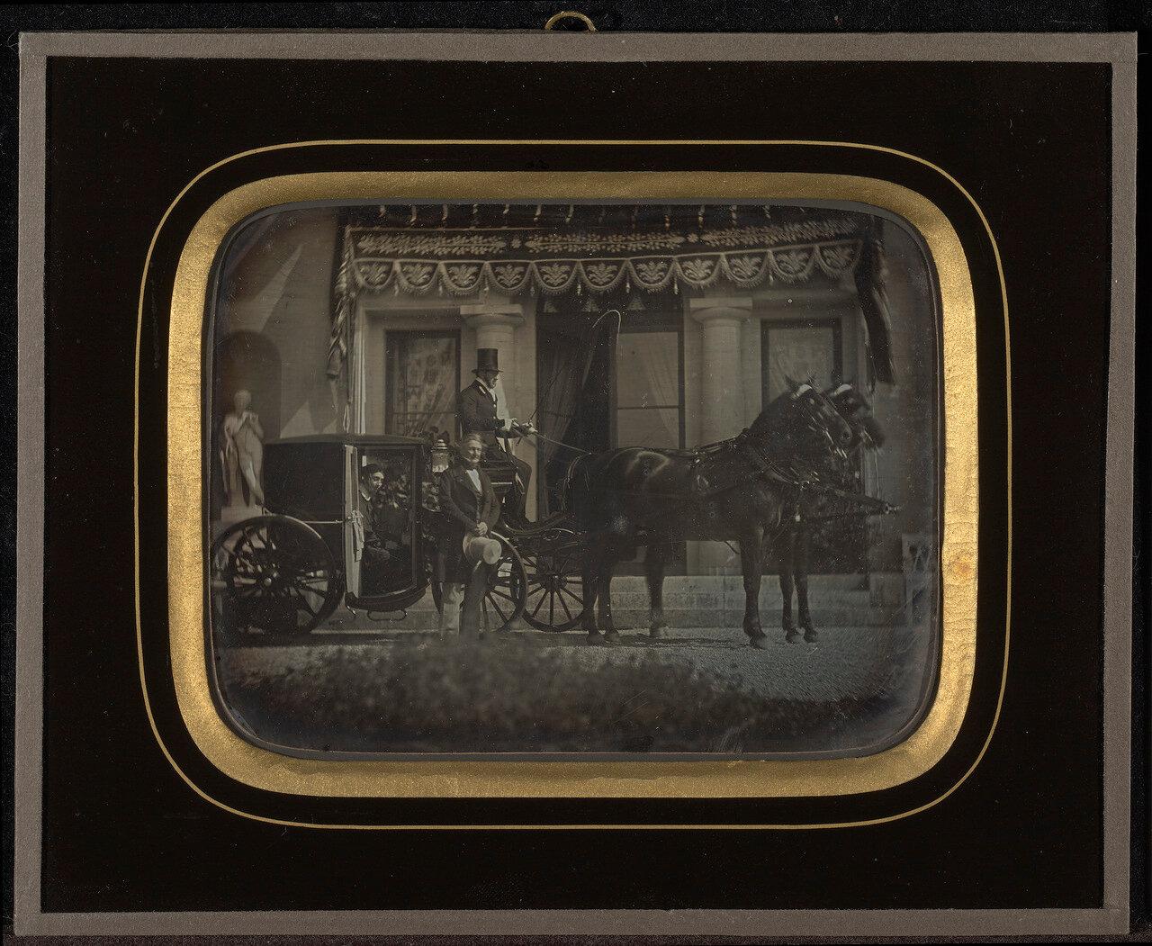 1850. Сцена в Болье