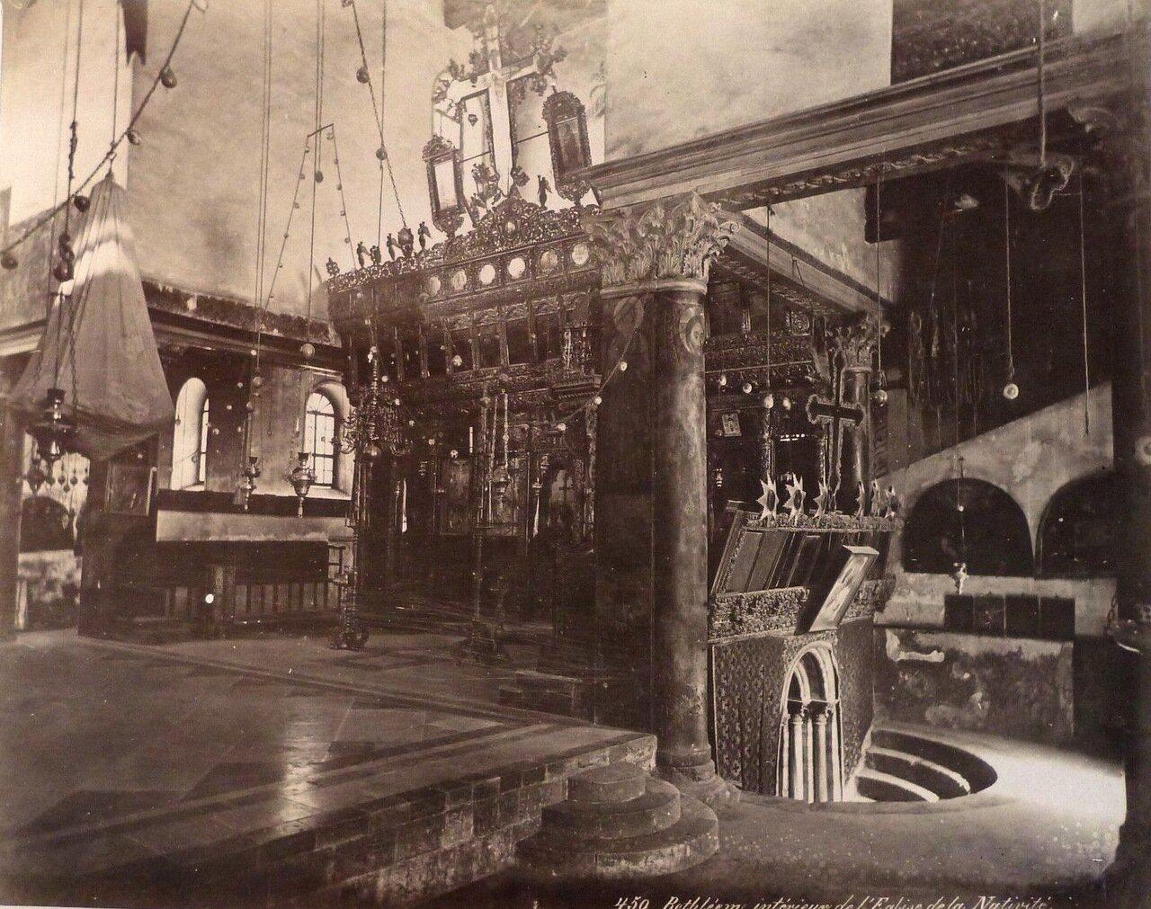 Вифлеем. Базилика Рождества Христова. 1882