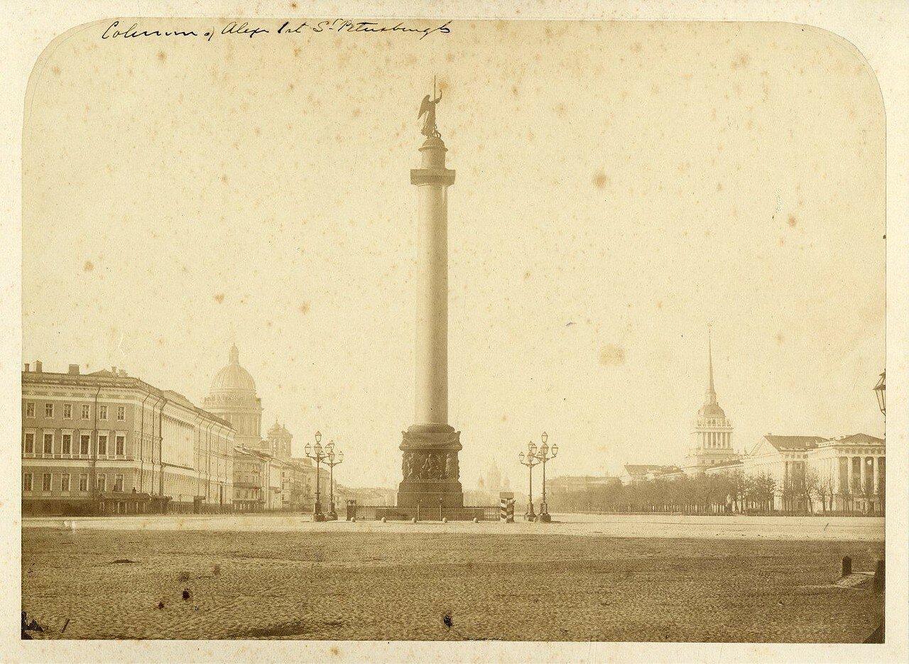 19. Александровская колонна на Дворцовой площади