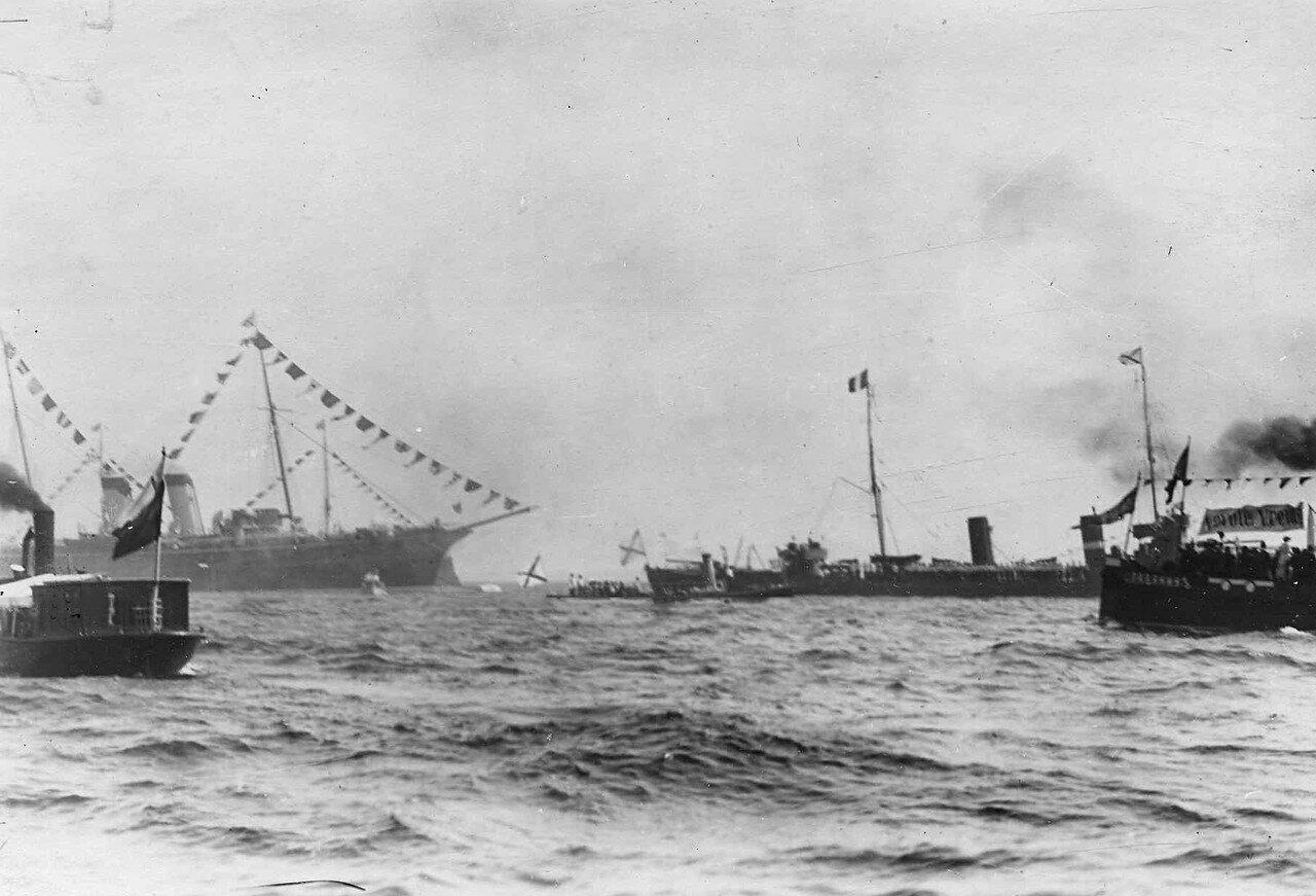 09. Русская эскадра на Кронштадтском рейде. 7 июля 1914