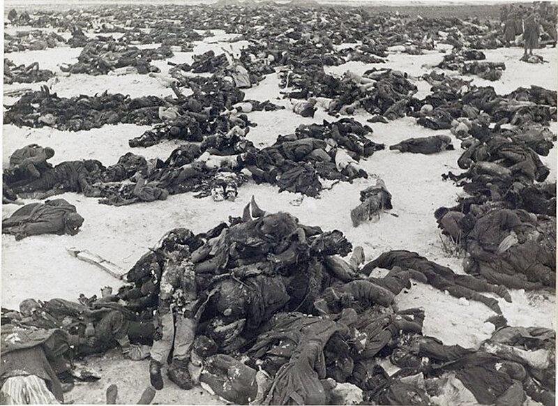 Немцы, убитые под Сталинградом