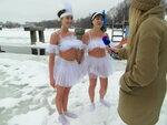 Встреча моржей в Долгопрудном (Московская область)