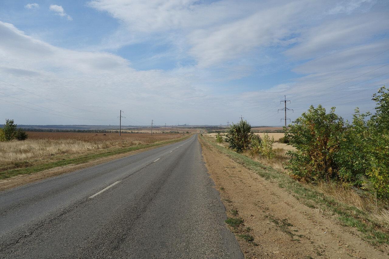 свободное шоссе на Шахты