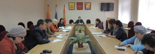спецоценка условий труда на совещании в Красночетайском районе