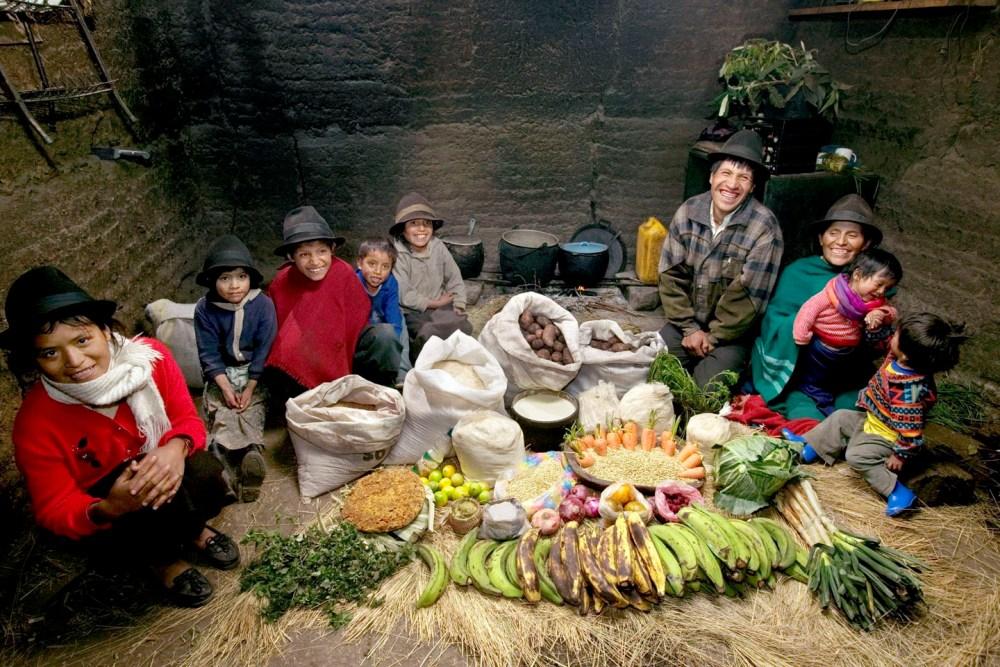 18 Эквадорская семья