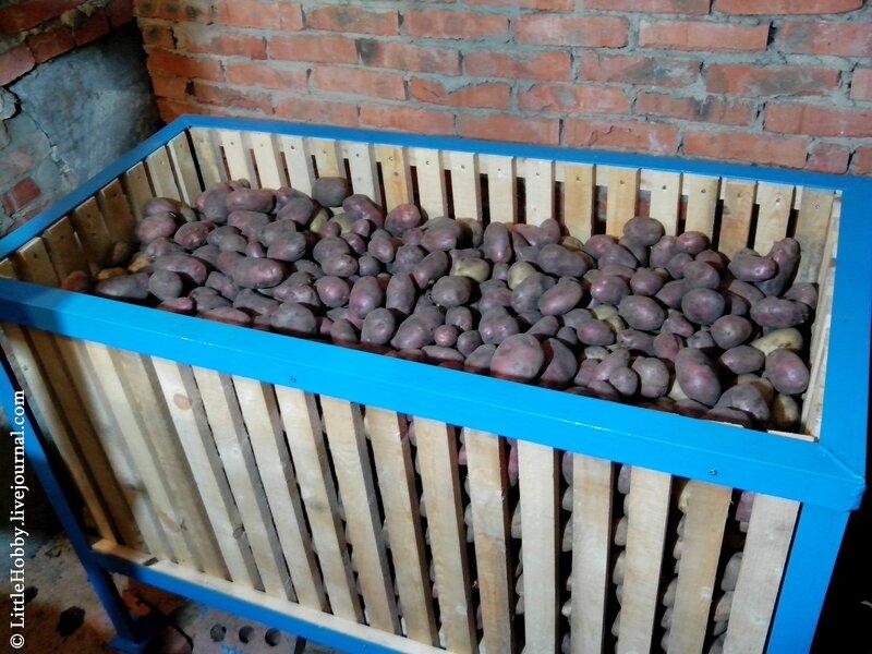 Как сделать закром для картошки 589