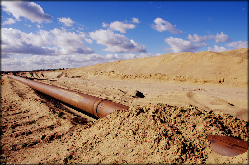 Сычёвские песчаные карьеры (деревня Сычёво, Волоколамский район)