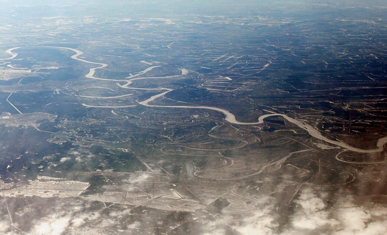 Река Белая выше Актаныша.