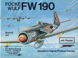 Книга Focke Wulf Fw 190 (Waffen-Arsenal 24)