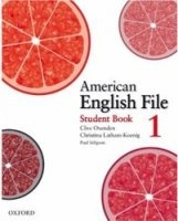 Аудиокнига American English File 1 (Student's book, Workbook, Audio CDs) pdf, mp3 (128 kbps, 44.1 khz, 2 channels) в архиве rar  307,55Мб