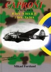 Книга Caproni Ca 313 R.P.B./S. B 16A - S 16A & B, T 16A - Tp 16A