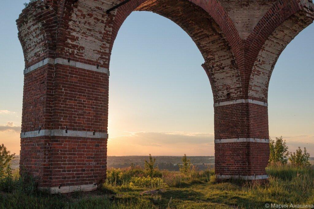 Руины церкви Бориса и Глеба, Старая Рязань