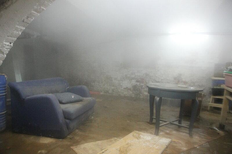 Авария в подвале Дома Ярошенко, организованная МК Энергоспецстрой