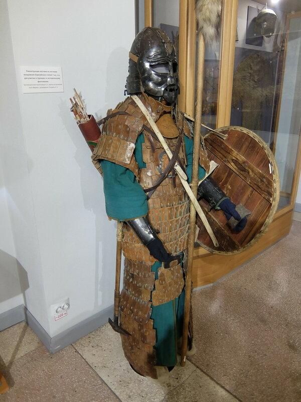 Абакан - Краеведческий музей - Воин