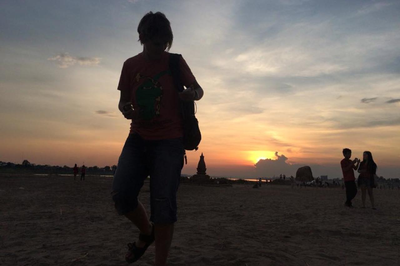 Закаты в Лаосе
