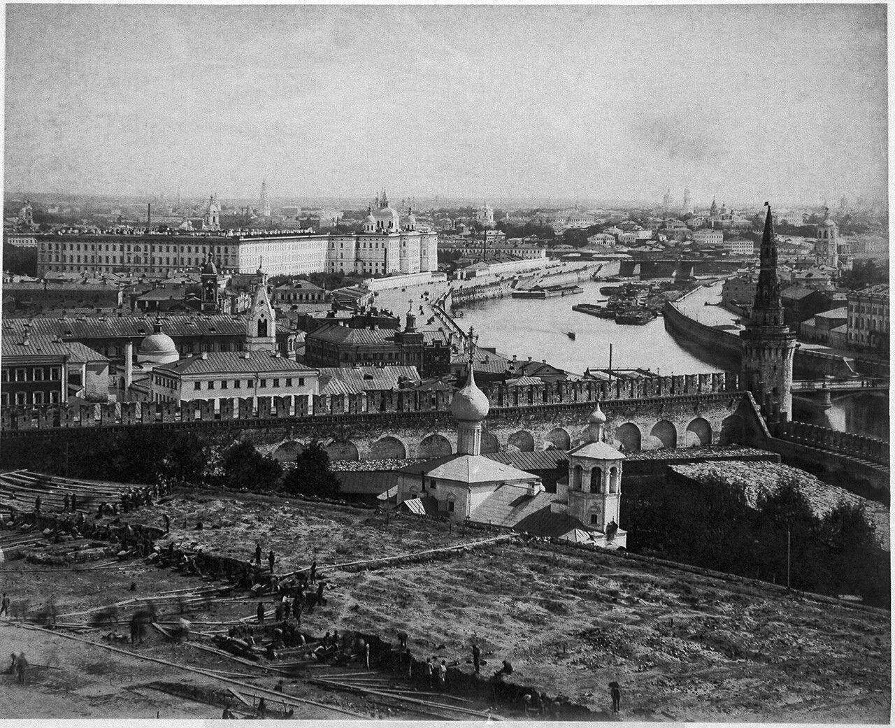 52. Вид с колокольни Ивана Великого, 1890 год